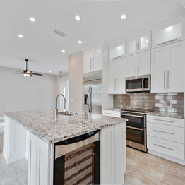 Bianco Antico Granite Countertop For Kitchen Countertop