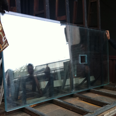 Tempered Glass will assemble with natural marble and onyx