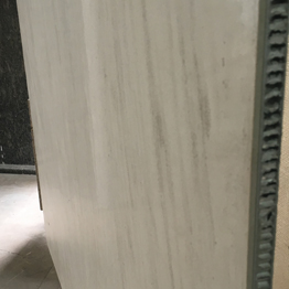 Moca Cream Limestone Composited with Aluminum Honeycomb