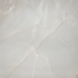 Kari Ice White Onyx Slab Tile Walling Flooring Top Stair