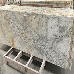 Colonial Cream Indian Granite Wholesale Prefab Kitchen Countertops