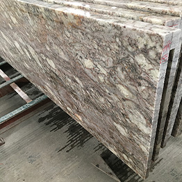 Fantasy Gold Granite Exotic Prefab Kitchen Countertops