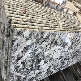 High Quality Wholesale Alaska Rosa Granite Prefab Kitchen Countertops
