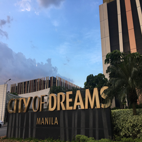 City Of Dreams, Manila, Philippines With Hotel And Casino