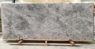 Tingida Stone Finished One Container Tundra Grey Marble 2cm Thick Slabs Shipping to Australia
