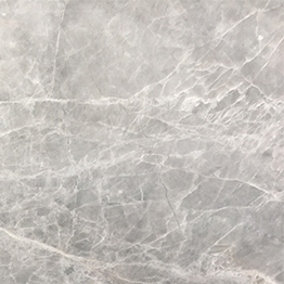Hermes Light Grey Marble Slab Panel Vanity Wall Floor Tile