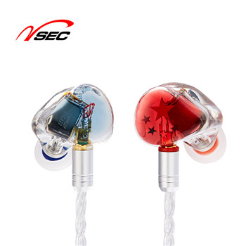 Wired HiFi bass headphones with Mic noise cancelling sports earphones