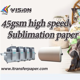 45gSTP -45gsm quick dry  sublimation transfer paper
