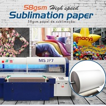 58gsm Sublimation Paper roll for Heat Transfer