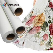 80gsm 90gsm 100gsm smooth surface dry fast sublimation heat transfer printing paper for textile