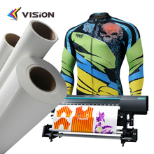 Premium quality full tacky sticky sublimation paper for polyester fashion textiles
