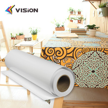 factory direct sale dye sublimation paper for polyester,textile fabric