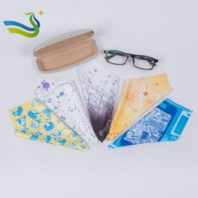 digital print microfiber lens cleaning cloth