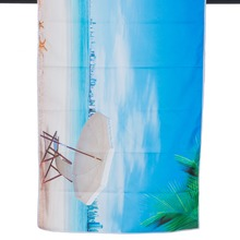 75*150cm quick drying 200gsm microfiber towel with summer holiday print logo