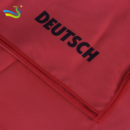 microfiber sweat sport towels with personalized logo printed/ custom logo