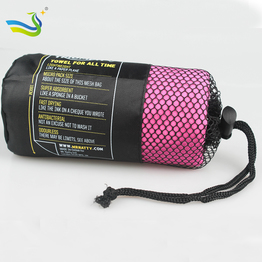 Promotion Microfiber pure color gym towel China supplier