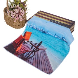 Superior Luxurious 100% Microfiber Beach Towels, Oversized 160*80cm, Soft  and Absorbent ,Hawaiian Beach Towels