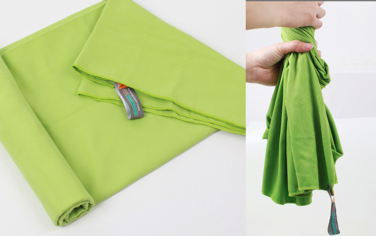 outdoors microfiber towel