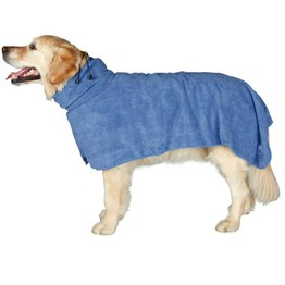 Easy Wear Dog Towel. Luxuriously Soft, Fast Drying 400gsm Microfiber. Soft for medium to large sized dogs pet bath towel