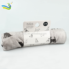Microfiber pet towel 40x60cm for puppy brown - LJA4060BR