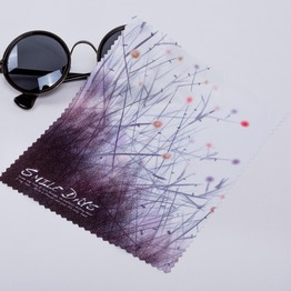 Brand new high quality digital printed microfiber eye glasses cleaning cloth super magic towel