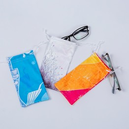 Jewelry Packaging Pouches Digital Printing Microfiber Sunglasses Bag Case