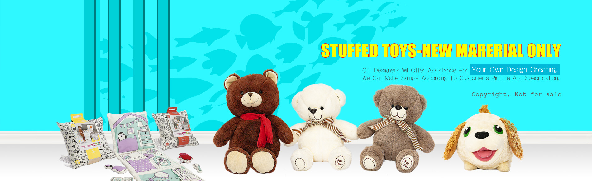 Stuffed toys | Play pillow | Sunlimation printing fabric -chinawondroustoys.com