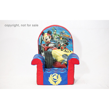 Custom mickey mouse sofa kids mini sofa chair fun furniture high back chair