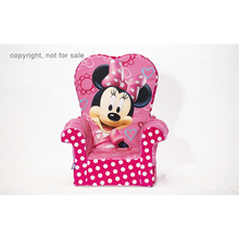 Customized children chair sofa disney princess toddler sofa fun furniture disney minnie high back chair