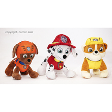 Customized high quality cheap plush stuffed animals toys paw dog patrol stuffed toys for kids