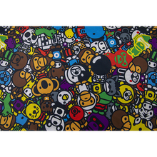 high quality digital sublimation printing fabric customize digital printing animal fabric for baby blanket