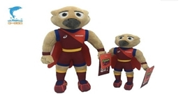 Plush stuffed animals toys cheer for Chinese track and field