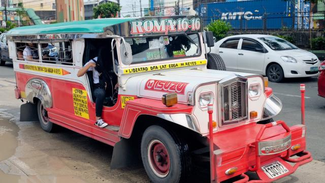 The jeepney on streets of the Philippines are a sight to see