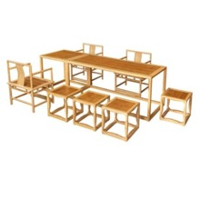 BTAC003 Bamboo Dining Set