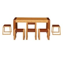 BTAC005 Bamboo Dining Set