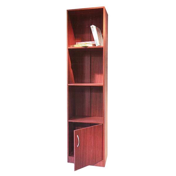 Red modern library reading room furniture wood furniture classic library bookcase SJ173025