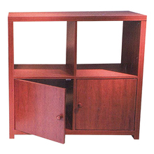 High quality library reading room furniture display system stand display cabinet QT171004