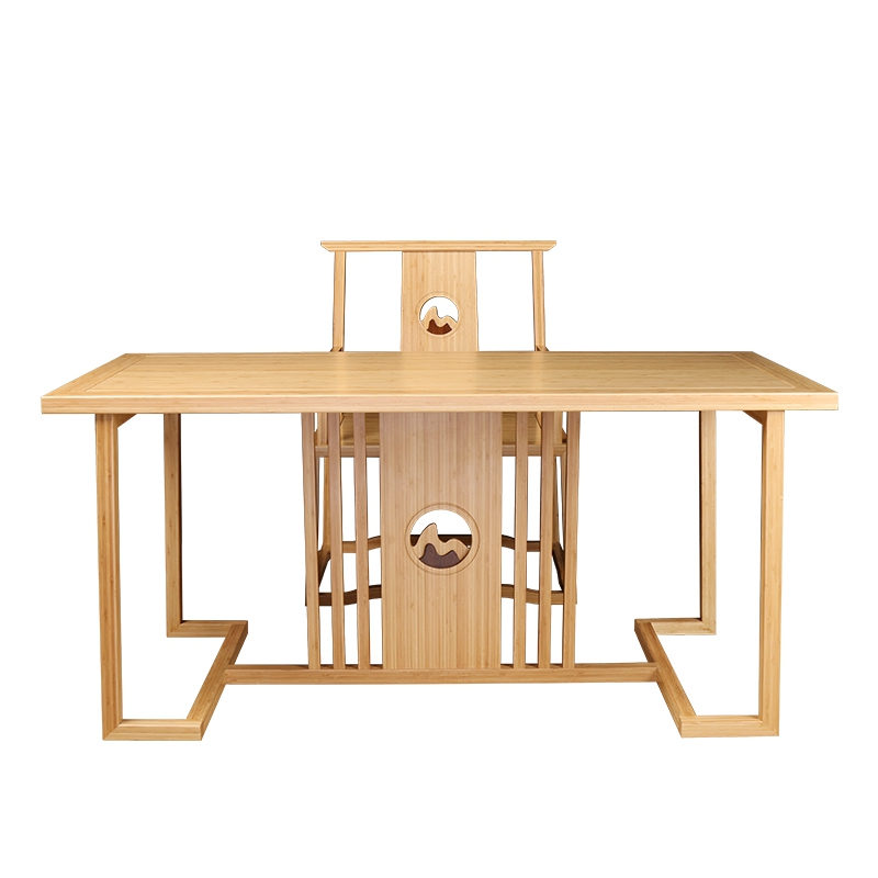 BambooTea Table&Chairs Set Yuanshan Type ZYZH001