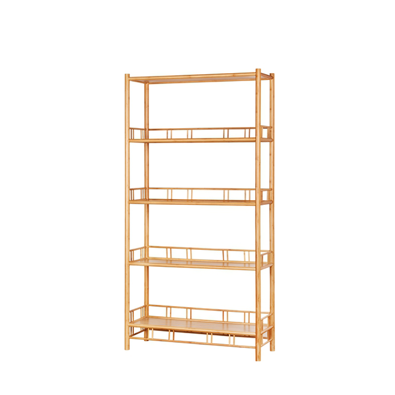 Bamboo Five Layers Display Rack ZSG 001
