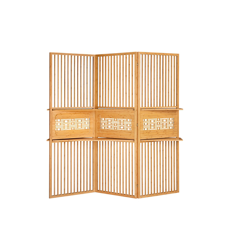 Bamboo Foldable Carved Screen PF 003