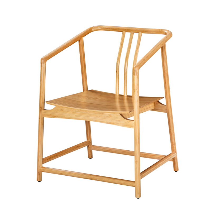 Bamboo Back Rest Chair Qujing Type KBY 009