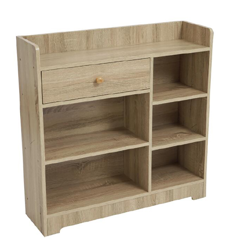Book Shelve Book Case With Drawer LHKT-1022