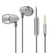 UiiSii US90 wired in-ear bass metal mic earphones headphones