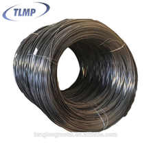 Steel wire containing phosphate