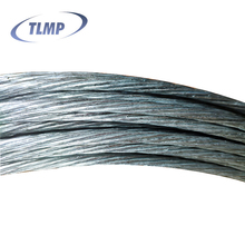 Galvanized phosphated tempered spring steel wire