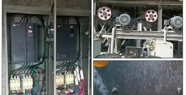 Application of frequency converter on crusher and ball mill