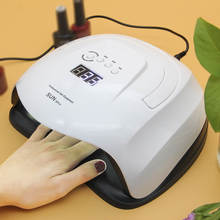 80W Nail Dryer SUN X Plus UV LED Lamp Nails Tools for Gel Polish Curing 36 LEDs Lamp With LCD Display Cabine for Manicure