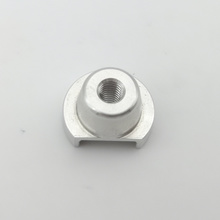 Precision lathed  component is made of aluminium