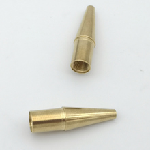 Brass CNC lathed part for pen component