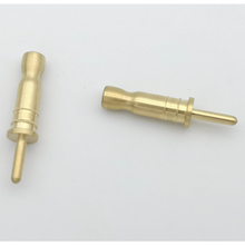 Brass CNC machining solid round connector